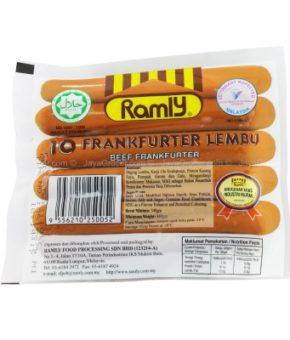 Ramly Beef Frankfurter 340g