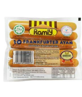 Ramly Frankfurter Ayam 340g
