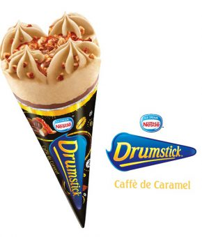 DRUMSTICK Caffè de Caramel, 110ml (Pack of 20)