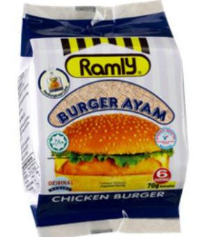 Ramly Chicken Burger 420g