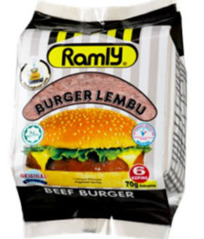 Ramly Beef Burger 420g