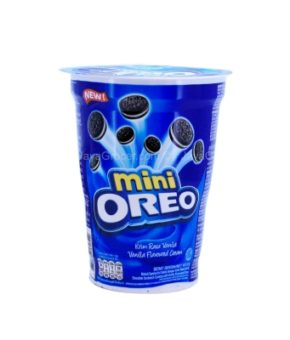 Oreo Mini Vanilla Cream Sandwich Cookies  67g