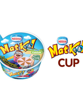 MAT KOOL Strawberry Cup Frozen Confection, 65ml (Pack of 24)