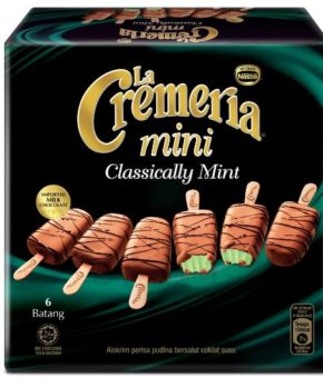 LA CREMERIA Mini Classically Mint Ice Cream, 45ml (Pack of 6)