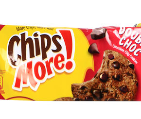 Chips More Double Choc Cookies 163.2g