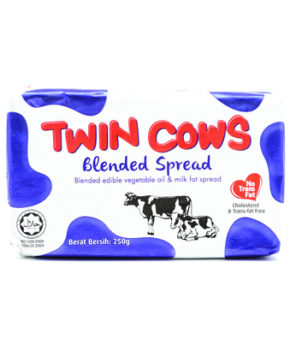 1 carton Twin Cows Blended Spreads 250g (60 pcs)