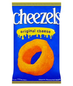 Cheezels Original Cheese Flavoured Snack 165g