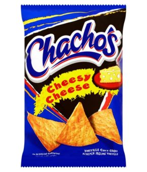 Chacho's Cheesy Cheese Tortilla Corn Chips 80g