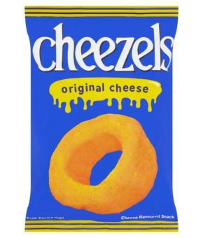Cheezels Original Cheese Flavoured Snack 60g