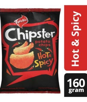 Twisties Chipster Hot And Spicy Potato Chips 160g