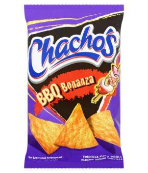 Chacho's Tortilla Corn Chips BBQ Bonanza 185g