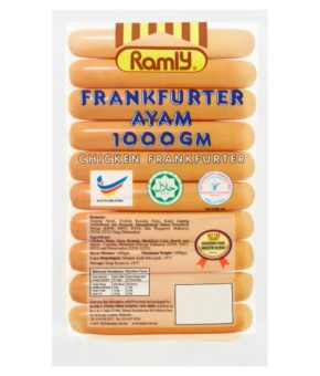 Ramly Chicken Frankfurter 1000g