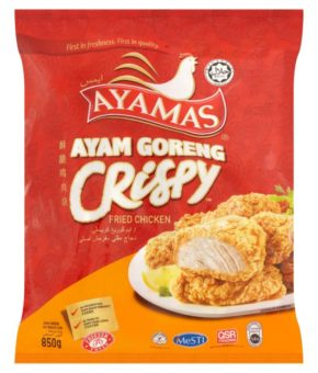 Ayamas Fried Chicken Crispy 850g