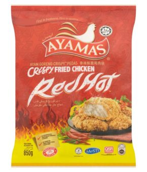 Ayamas Red Hot Crispy Fried Chicken 850g