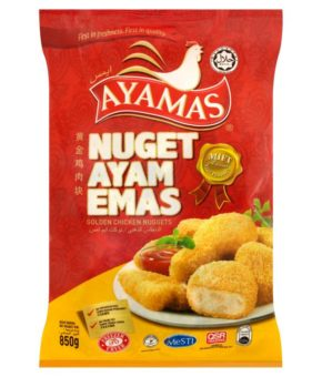 Ayamas Golden Chicken Nuggets 850g