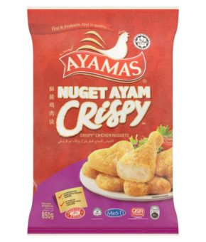 Ayamas Crispy Chicken Nuggets 850g