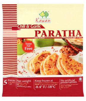 Kawan Paratha Chilli & Garlic 5 Pcs 400g