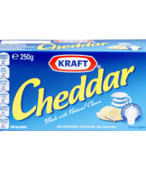 Kraft Cheedar Process 250g