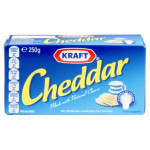 Kraft Cheddar 250g