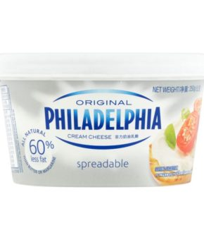 Philadelphia Original Spreadable Cream Cheese 250g