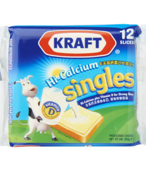 Kraft Singles Processed Cheese 12 Slices 250g