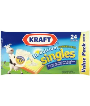 Kraft Singles Processed Cheese 24 Slices 500g