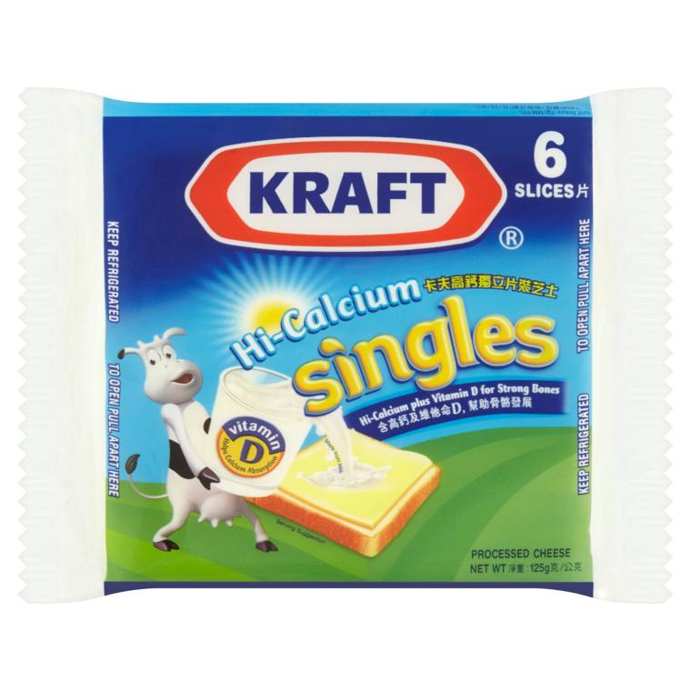 Kraft Singles (6s) 125g