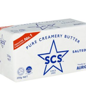 SCS Salted Pure Creamery Butter 250g