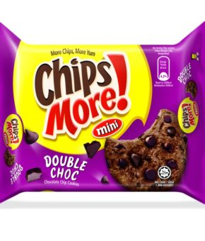 Mini Chips More Double Choc Cookies 88g