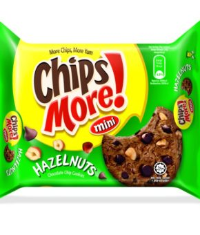 Chipsmore Mini Hazelnuts Chocolate Chip Cookies 88g