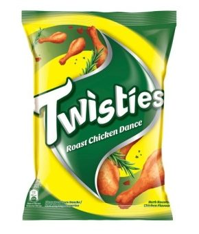 10 x Twisties R Chicken Dance 65g