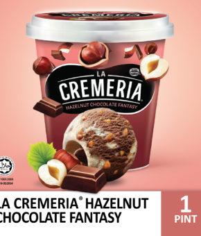 LA CREMERIA HAZELNUT CHOC 750ML