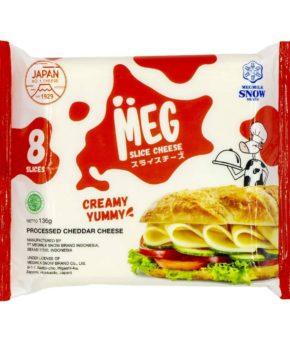 JAPAN MEG SNOW BRAND CHEESE SLICE – 8S (136G)