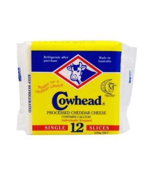 Cowhead Slice Cheese 250g 12 slices