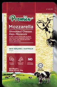 Promex Shredded Mozarella 2kg