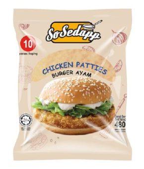 So Sedap Chicken Patties 480g (10 Pieces)