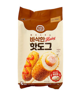 Wooyang Original Corn Dog 400g (5ea)