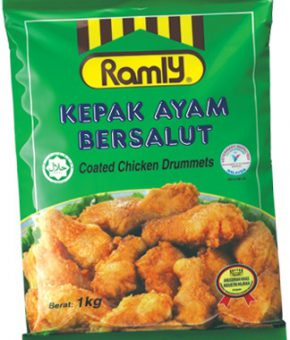 Kepak Ayam Bersalut (Coated Chicken Drumlets)