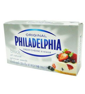 Philadelphia Cream Cheese Block 250g