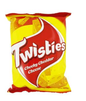 10 x Twisties C Cheddar Cheese 65g