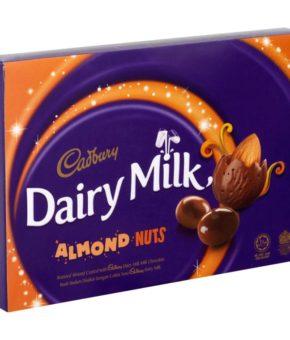Cadbury Dairy Milk Almond Nuts 180g