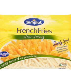 Simplot Shoestring French Fries 1kg