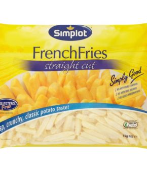 Simplot French Fries Straight Cut 1kg