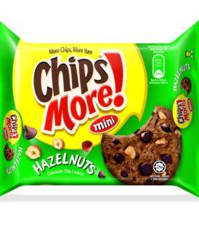 Chipsmore Mini Hazelnuts Chocolate Chip Cookies 88g