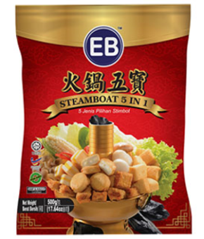 EB STEAMBOAT 5 IN 1 500G