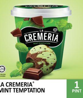 LA CREMERIA MINT TEMPTATION 750ML