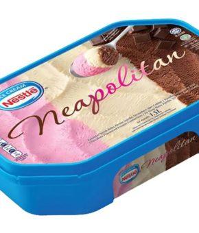 Nestle Ice Cream Neapolitan 1.5L